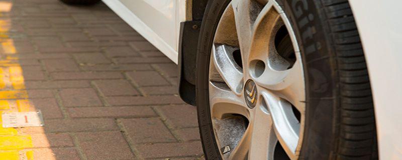 汽车轮胎漏气