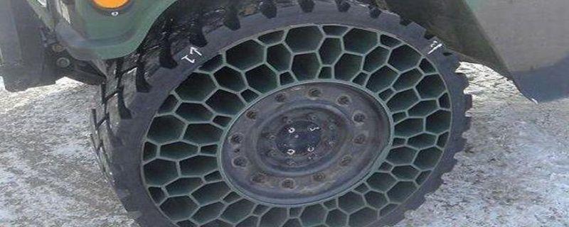 蜂巢轮胎有民用的吗,蜂巢轮胎与实心轮胎