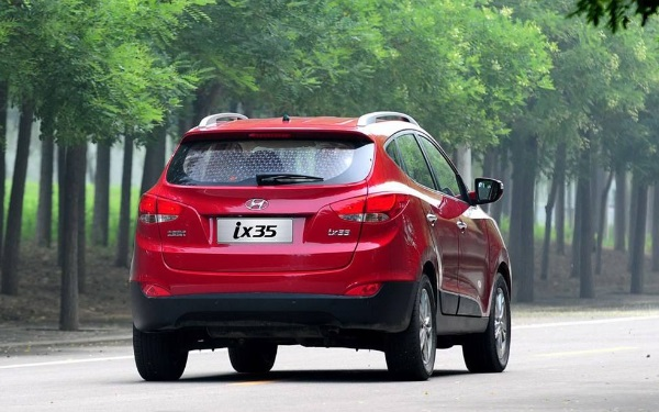 SUV中的现代ix35刹车怎么样 踏板反应灵敏