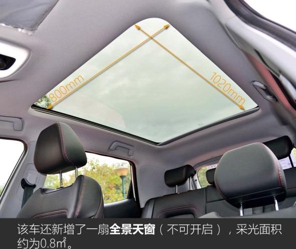 奇瑞瑞虎5X有天窗吗 天窗作用大吗