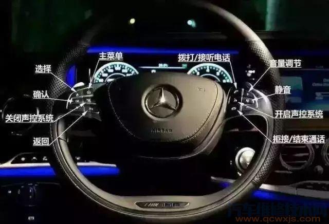 奔驰车内按键功能图解