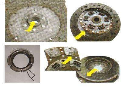 离合器常见问题的故障判断以及检修