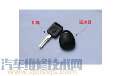 上海大众桑塔纳志俊遥控器匹配方法