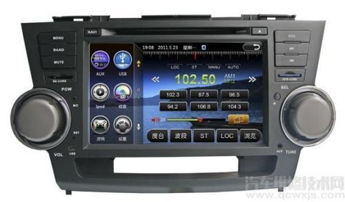 汽车影音系统的功能和汽车影音系统的组成