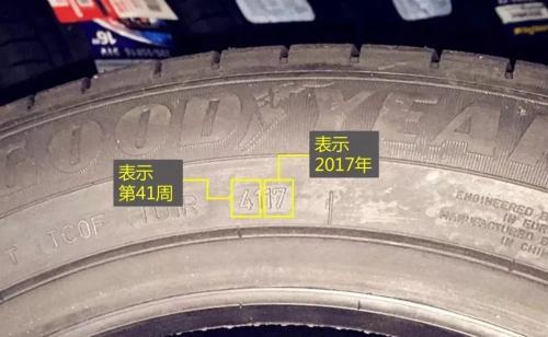 轮胎日期怎么看(图解)