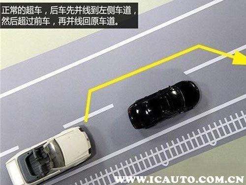正确超车的步骤,超车从哪边超图解
